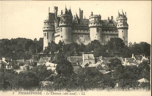 Pierrefonds Chateau Pierrefonds