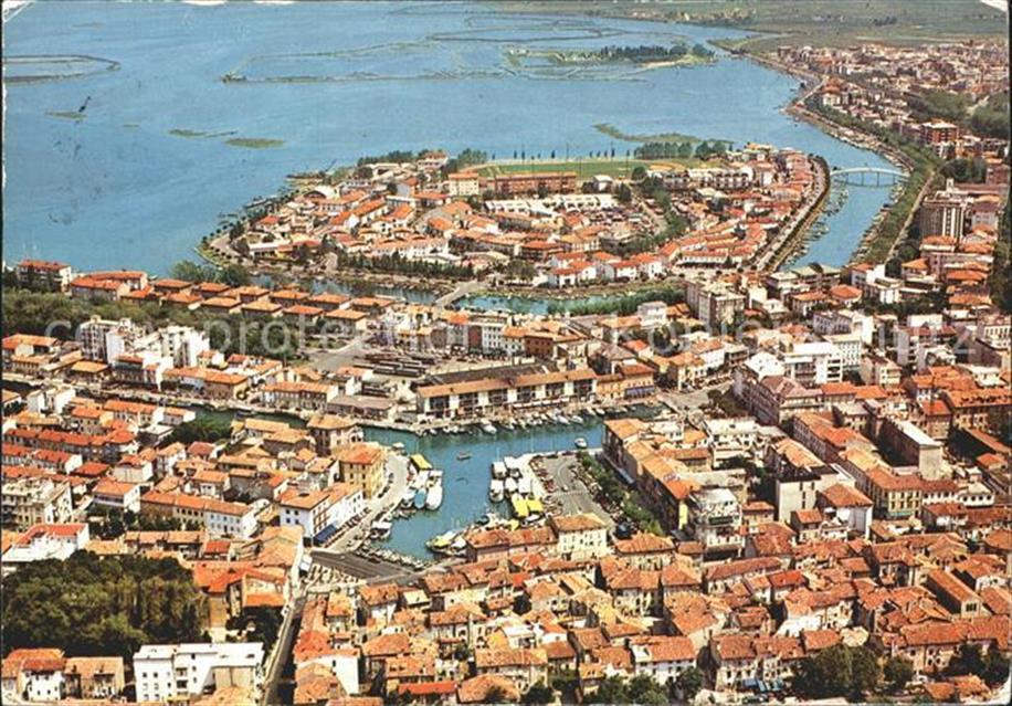 Grado_Gorizia Luftbild Insel Grado Gorizia: Ansichtskarten-Center ...