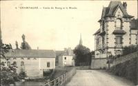 Champagne Sarthe Bourg et le Moulin x Champagne