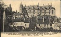 Loches_Indre_et_Loire Chateau royal Loches_Indre_et_Loire