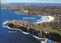 Sydney New South Wales Aerial view of famous Bondi Beach Sydney