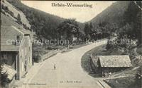 Urbes Wesserling Route  Alsace Urbes