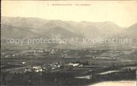 Bourg-Madame Vue generale Montagnes Bourg-Madame