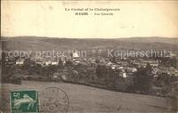 Maurs Vue generale Collection Le Cantal et la Chataigneraie Maurs