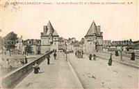 Chatellerault Pont Henri IV Entree de Chateauneuf  Chatellerault
