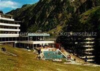 Bad Vals GR Thermalschwimmbad Vals
