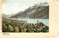 Brienz BE Panorama Brienzersee Berner Alpen Brienz BE