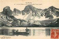 Lac d Allos et les Grandes Tours Collection Les Alpes Allos