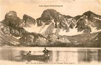 Lac d Allos et les Grandes Tours Collection Les Alpes Pittoresques Allo