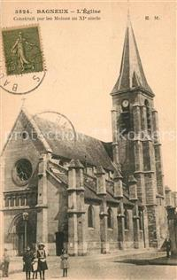 Bagneux Indre Eglise Bagneux