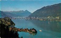 Iseltwald Panorama Brienzersee Berner Oberland Alpen Iseltwald