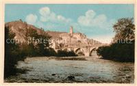 Estaing Aveyron Pont et Chateau Estaing