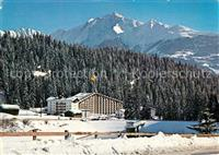Laax Happy Rancho Sporthotel Winterlandschaft Laax