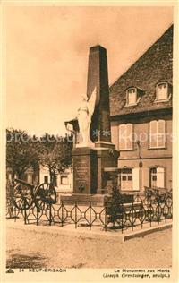 Neuf Brisach Le Monument aux Morts Neuf Brisach