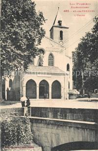 Ax-les-Thermes Eglise Ax-les-Thermes