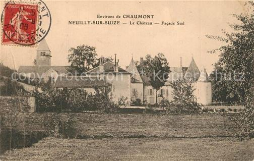 Neuilly-sur-Suize Chaumont Chateau Neuilly-sur-Suize