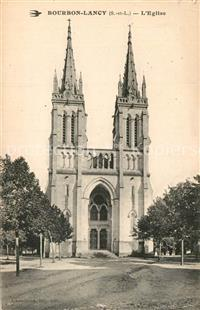 Bourbon-Lancy Eglise Bourbon-Lancy