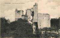Vendome Ruines du Château Vendome