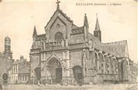 Doullens_Somme Eglise Doullens_Somme