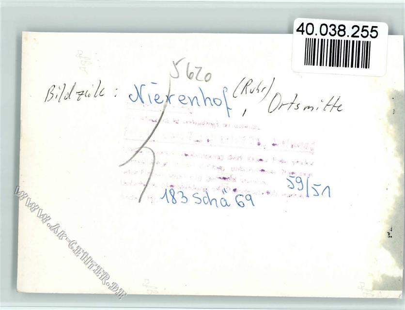 5620 Nierenhof Keine Ak Ortsmitte Möbel Markmann Ansichtskarten