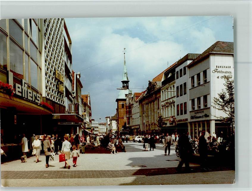 Fussgangerzone Oldenburg Karte.2900 Oldenburg Keine Ak Fussgangerzone Kaufhaus Lefters