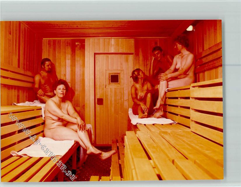 Sauna nackt