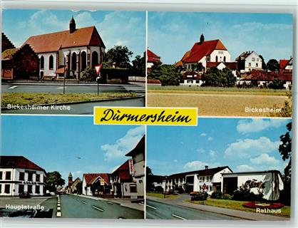 7552 durmersheim bickesheimer kirche bickesheim hauptstraße