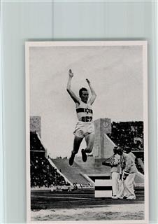 Jesse owens und luz long olympiade 1936 sammelbild band ii