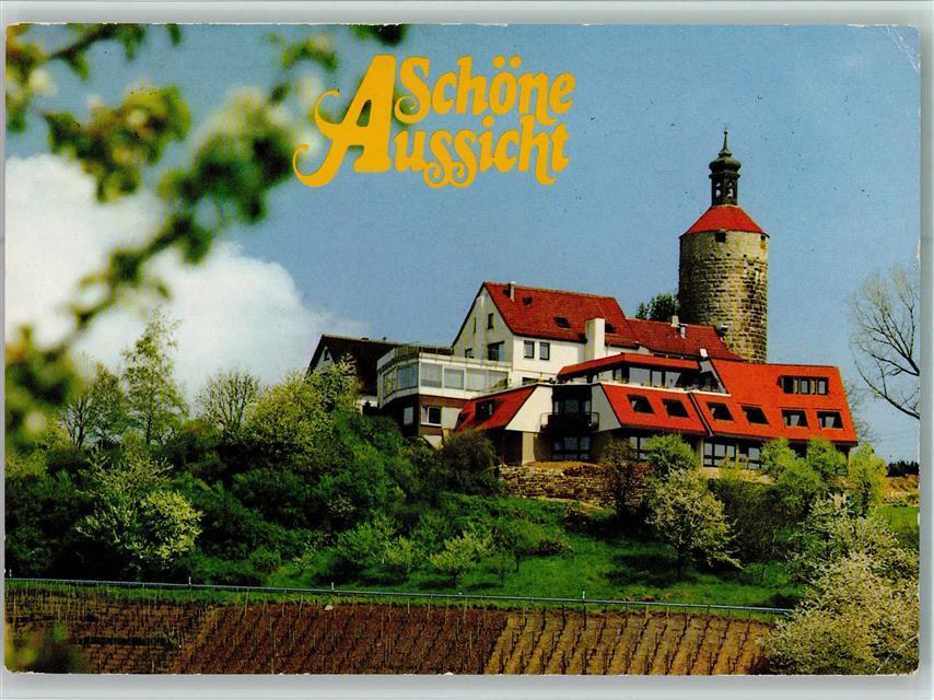 7057 Burg Hohengasthof Terrassencafe Hotel Schone Aussicht